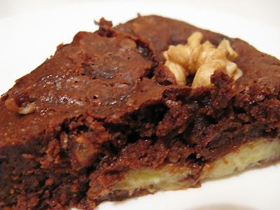 Gateau chocolat nesquik banane